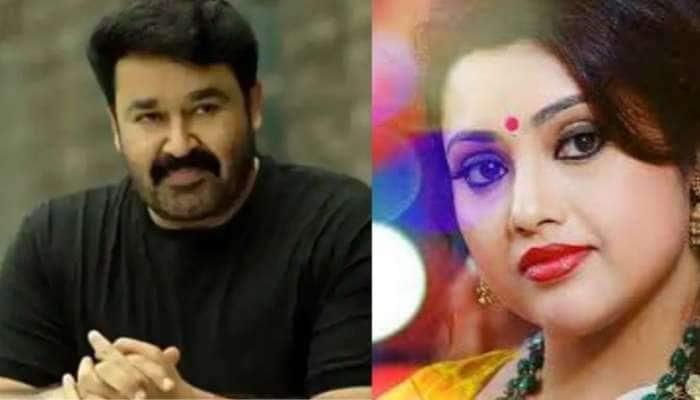 """""""Happy Birthday Meena, Welcome to Drishyam 2"""" மீனாவுக்கு வாழ்த்து கூறிய மோகன்லால்!!"""