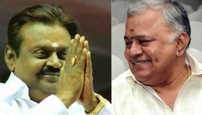 'விரைவில் குணமடைந்து வா நண்பா' – விஜயகாந்துக்கு ராதாரவி செய்தி!!