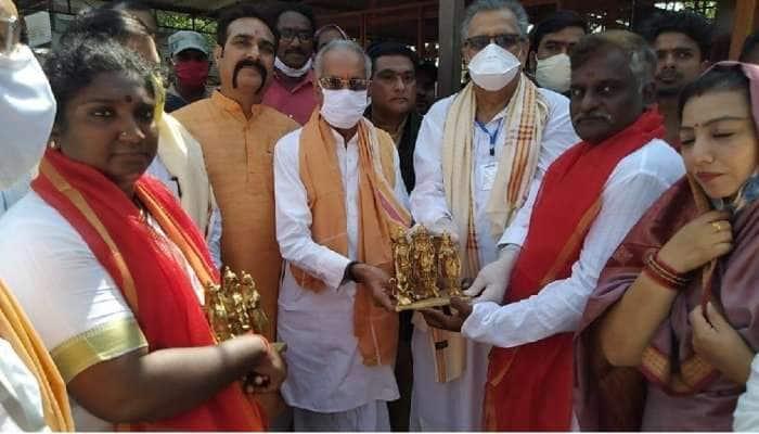 ராமர் கோவிலுக்கான, பிரம்மாண்டமான மணி ராமேஸ்வரத்தில் இருந்து அயோத்தியை அடைந்தது..!!!