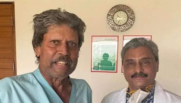 Good News: கிரிக்கெட் வீரர் கபில் தேவ் நலமுடன் வீடு திரும்பினார்..!!!