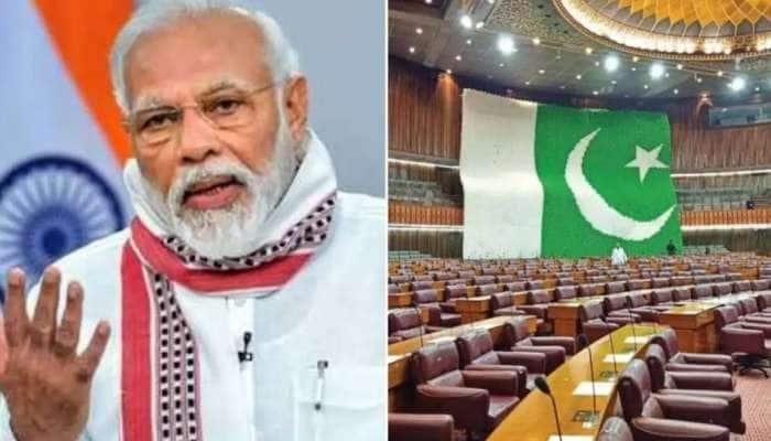 Pak parliament-ல் 'மோடி' கோஷம், action-ல் இறங்கிய netizens: உண்மையில் நடந்தது என்ன?