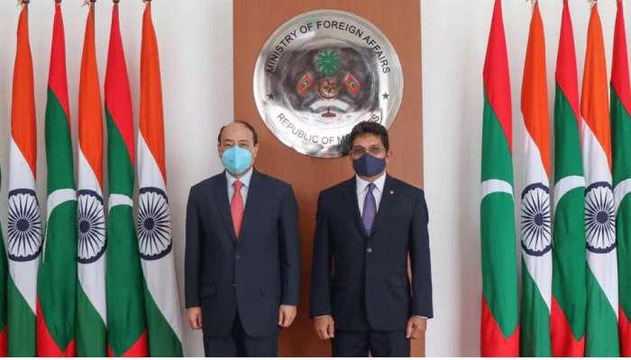 மாலத்தீவில் குழந்தைகளுக்கான 67 பூங்காக்களை கட்டித் தந்தது இந்தியா..!!!