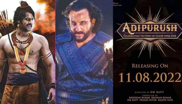 Adipurush: பிரபாஸ்-சைஃப் அலி கானின் மெகா பட்ஜெட்  திரைப்படம் எப்போது வெளியாகும் தெரியுமா?