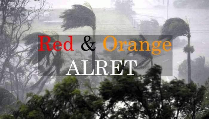 அடுத்த 4 நாட்களுக்கு தமிழகம் உட்பட 4 மாநிலங்களில் மழை! Red மற்றும் Orange எச்சரிக்கை