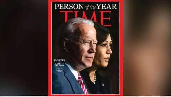 ஜோ பைடன் கமலா ஹாரிஸ் 2020 ஆண்டின் சிறந்த நபர்கள்: Time magazine