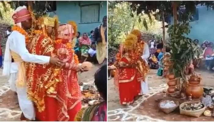 Viral Video: ஒரே மேடையில் இரு பெண்களை மணந்த ஆண் watch this...