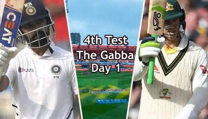 IND vs AUS 4வது டெஸ்ட் முதல் நாள் ஆட்டம் Highlights: ஆஸ்திரேலியா 5 விக்கெட் இழப்புக்கு 274 ரன்கள்!!