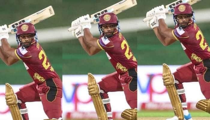 T10 League 2021: 26 பந்துகளில் 89 ரன்கள் எடுத்து நிக்கோலஸ் பூரன் அபார சாதனை