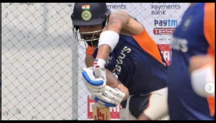 IND v ENG 1st Test: சென்னை மைதானத்தில் வலைப் பயிற்சியில் ஈடுபடும் கேப்டன் விராட் கோலி