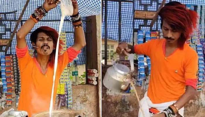 சூப்பர் ஸ்டார் Rajinikanth ஸ்டைலில் டீ ஆத்தி வைரலாகும் டீகடைக்காரர் Watch Video