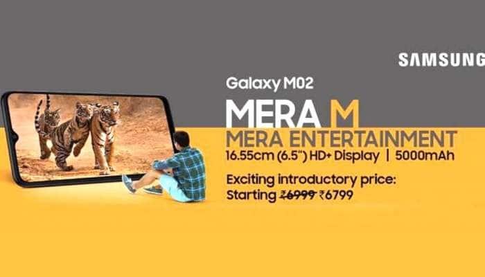 ₹.7000-க்கும் குறைவான விலை அட்டகாசமான அம்சங்களுடம் அறிமுகமான Samsung Galaxy M02!
