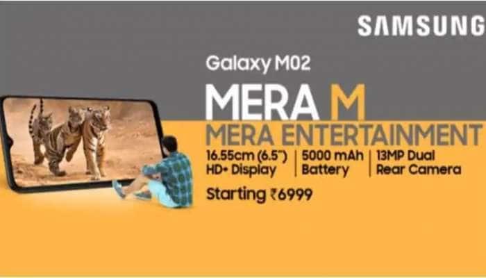 அட்டகாசமான அம்சங்கள், நம்ப முடியாத மிகக் குறைந்த விலையுடன் அசத்த வருகிறது Samsung Galaxy M02