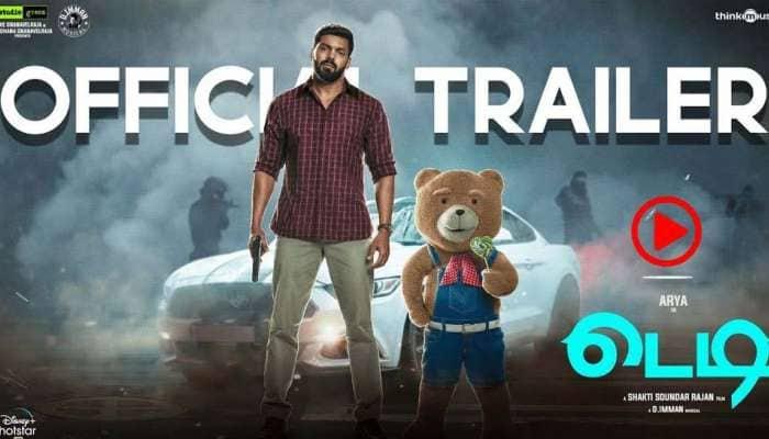 Teddy trailer: ஆர்யா நடிக்கும் 'டெடி' திரைப்படத்தின் டிரெய்லர் ரிலீசானது