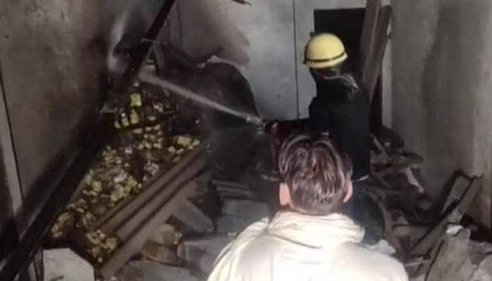 Blast in cracker factory: கர்னலில் பட்டாசுத் தொழிற்சாலை விபத்தில் ஒருவர் பலி, மூவர் காயம்