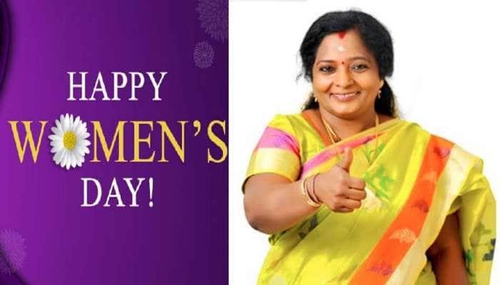 International Women's Day: Top-20 தலைசிறந்த பெண், தமிழச்சி தமிழிசை சவுந்தரராஜன்