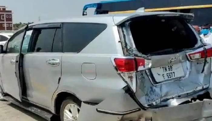 Breaking: தமிழக சட்டமன்ற சபாநாயகர் பி தனபாலின் கார் விபத்துக்குள்ளாகியது