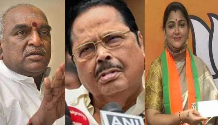 Tamil Nadu Election 2021, the verdict day:பின்னடையும் முன்னணி நட்சத்திர வேட்பாளர்களின் பட்டியல்