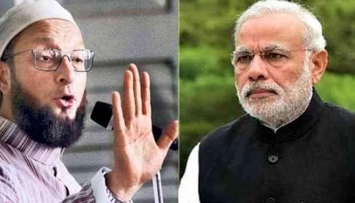 Apologize PM Modi என்ற கோஷத்தை முன்னெடுக்கும் ஓவைசி