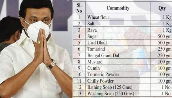 குடும்ப அட்டைதாரர்களுக்கு 13 மளிகைப் பொருட்கள் இலவசமாக வழங்க தமிழக அரசு திட்டம்!