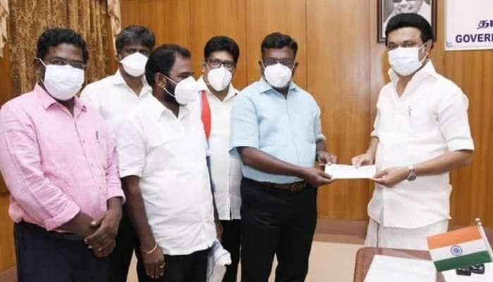 கொரோனா நிவாரணப் பணிகளுக்காக திருமாவளவன் நிதி உதவி