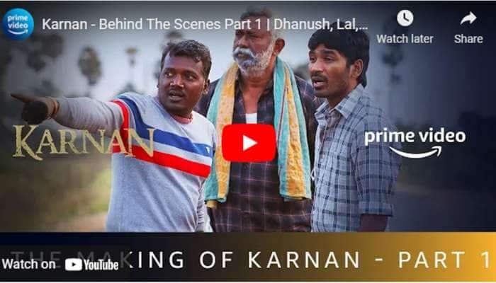 தனுஷின் கர்ணன்: Behind The Scenes எடுக்கப்பட்ட வீடியோ!