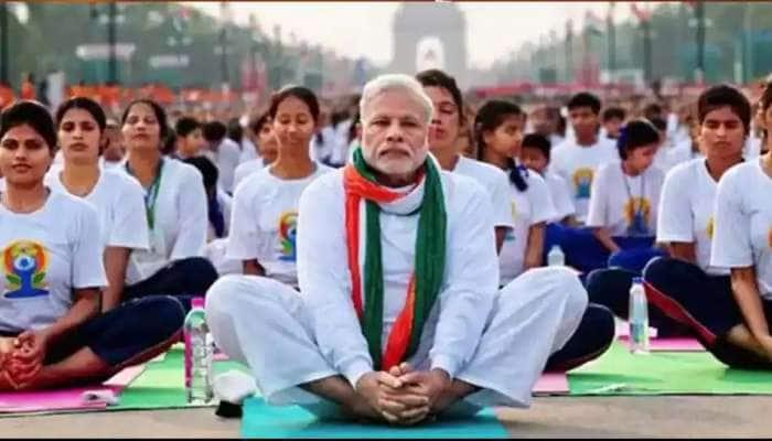 நாளை சர்வதேச யோகா தினத்தில், பிரதமர் மோடி சிறப்புரை