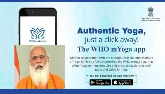 mYoga app: ஒரு உலகம், ஒரே ஆரோக்கியம் என்ற இலக்கை அடைய புது செயலி