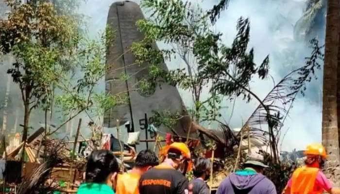 Philippine military plane crash: விமான விபத்தில் 47 பேர் பலி, 49 பேர் காயம்