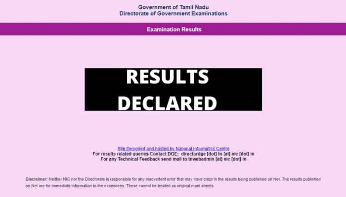 TN HSC 2021 பிளஸ் 2 தேர்வு முடிவுகள் அறிவிக்கப்பட்டன: ரிசல்ட் பார்ப்பது எப்படி