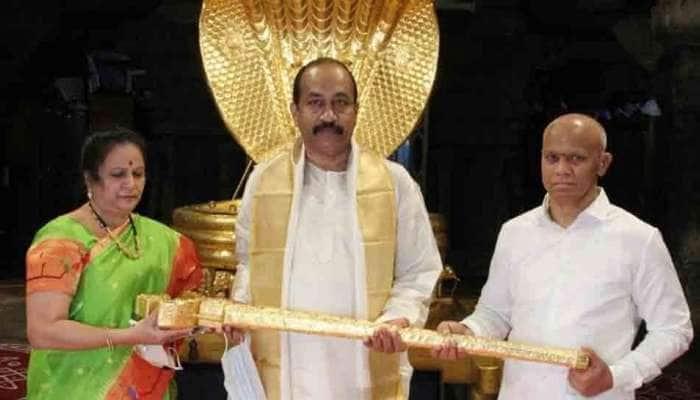 ஏழுமலையானுக்கு ₹1 கோடி மதிப்பிலான வாளை காணிக்கையாகிய தொழிலதிபர்
