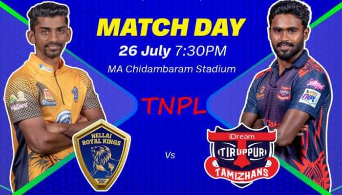 நெல்லை vs திருப்பூர்: இன்றைய TNPL லீக் போட்டியில் வெற்றி பெறுவது யார்?
