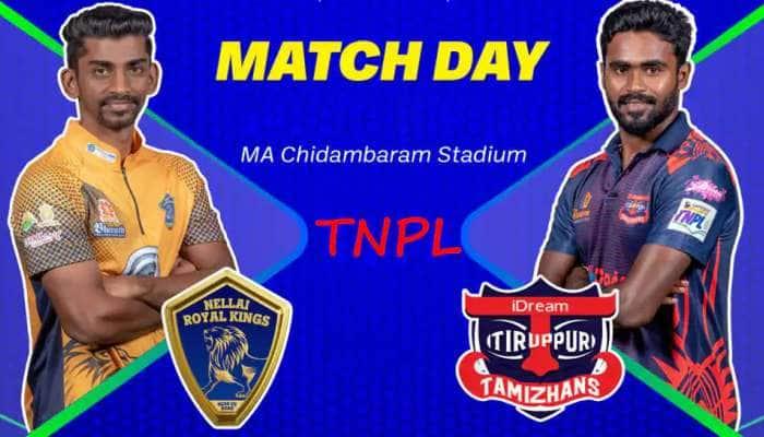 TNPL கிரிக்கெட்  2021: நெல்லையை வென்றது திருப்பூர்