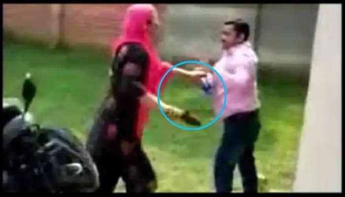 Viral Video: தலைமை ஆசிரியரை செருப்பால் அடித்த பெண் ஆசிரியர்!