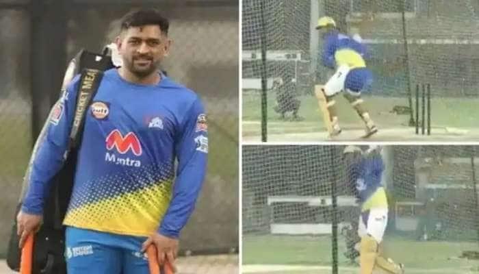 IPL 2021: நெட் பயிற்சியில் கலக்கிய தோனி, கலங்கிய மற்ற அணிகள், watch video!!