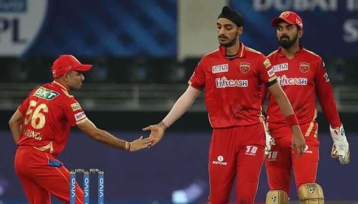 IPL 2021 PBKS vs RR: பஞ்சாப் வெற்றி பெற 186 இலக்கு; அர்ஷ்தீப் சிங் அசத்தல்