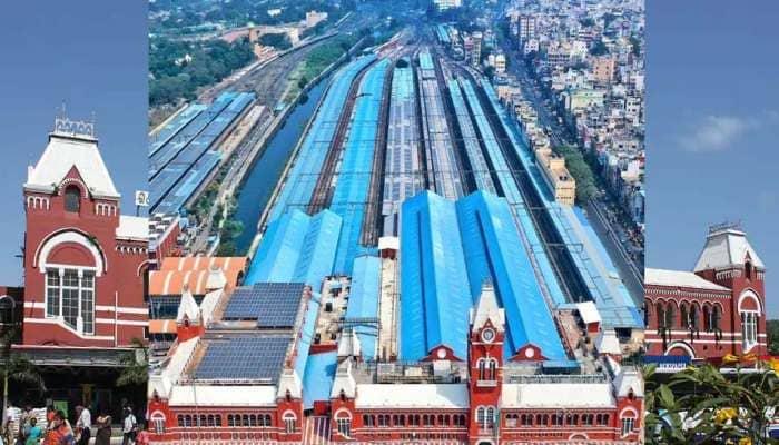 Solar Power: சென்னை செண்ட்ரல் ரயில் நிலையம் சூரிய மின் சக்தி உற்பத்தியில் சாதனை